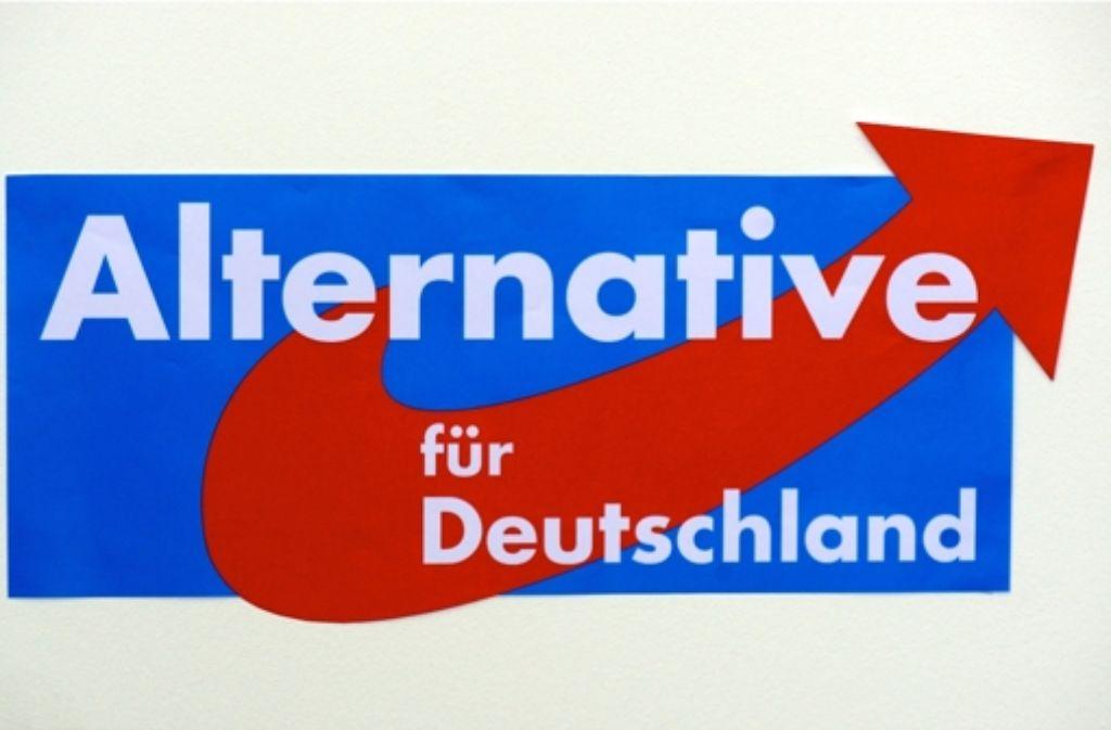 """Die """"Alternative für Deutschland"""" will gegen die Politik der etablierten Parteien ankämpfen. Nun hat sich ein Foto: dpa"""