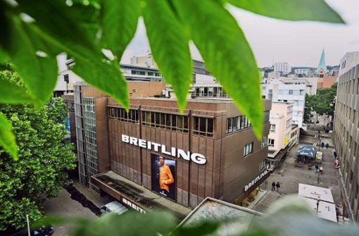 Firma Breitling will Geschäftshaus vermieten