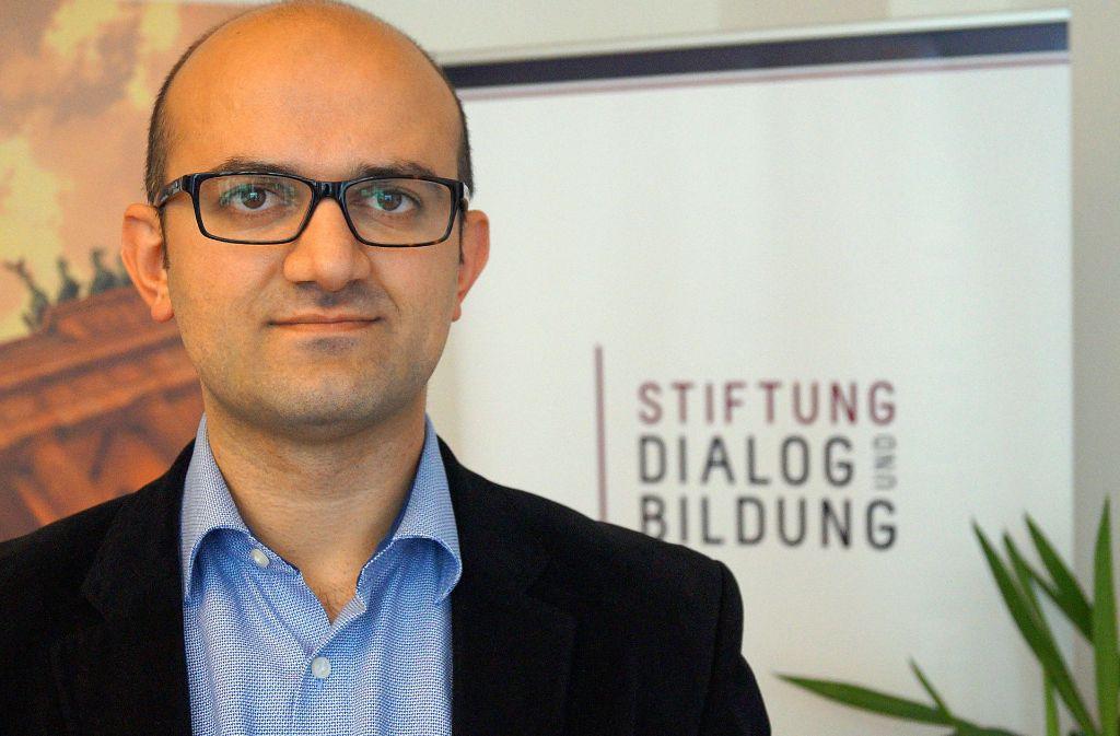 Ercan Karakoyun, Repräsentant der Gülen-Bewegung in Deutschland, propagiert die Trennung von Staat und Religion. Foto: dpa