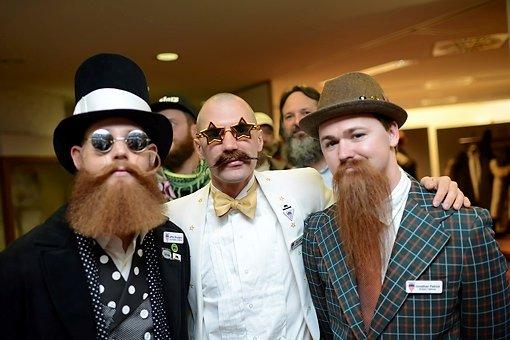 Internationales Schaulaufen der Bartträger