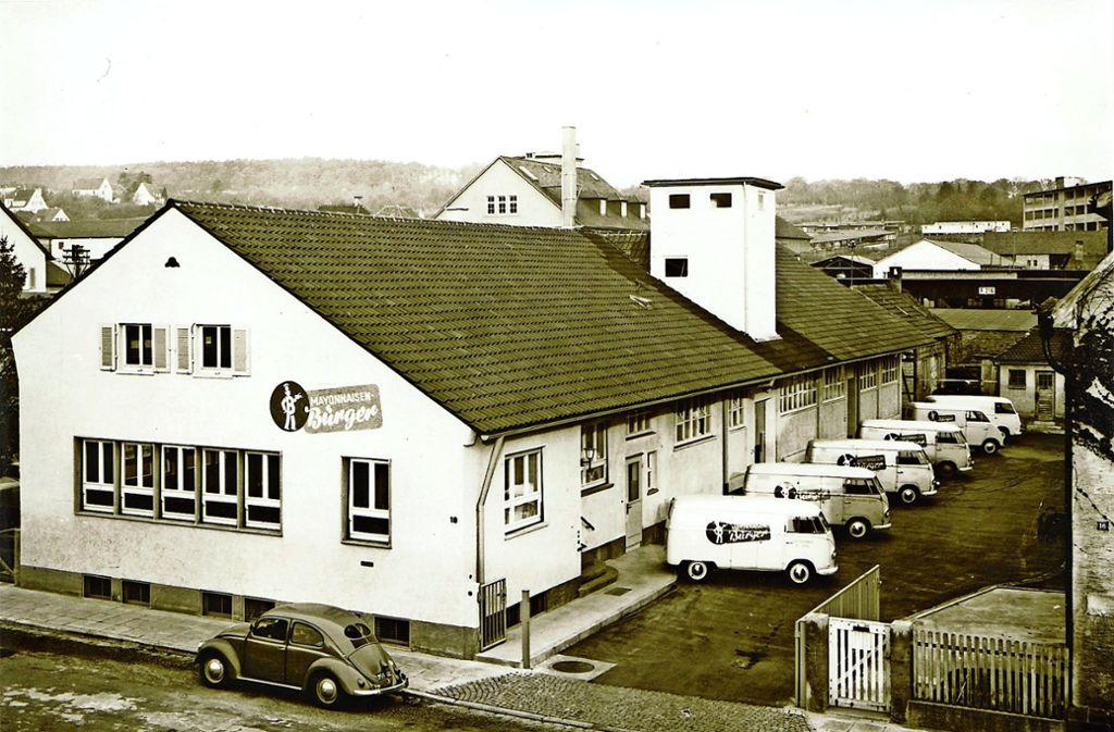 Richard Bürger hat das Unternehmen im Jahr 1934 in Feuerbach gegründet. Foto: Bürger