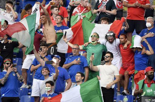 Italien mit Superserie im Rücken gegen Österreich