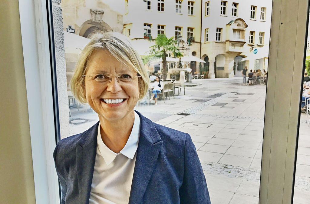 Amüsiert sich über Beamtendeutsch: FDP-Abgeordnete Gabriele Reich-Gutjahr Foto: StZ