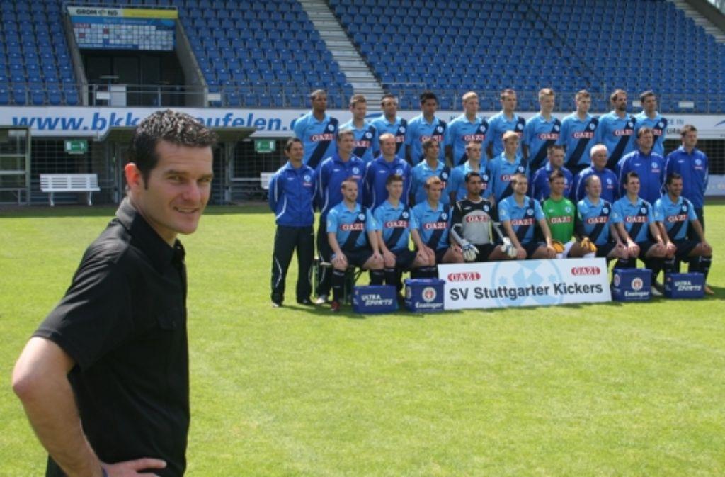 Kickers-Marketingleiter Jens Zimmermann wurde nach einem StZ-Interview von seinen Aufgaben beim Drittligisten entbunden. Foto: StZ