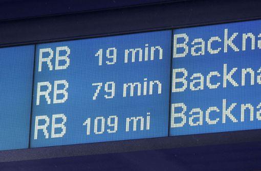 Reisende am Bahnsteig belästigt