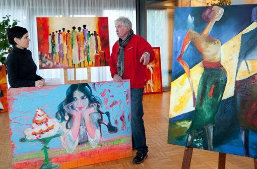 Malerei, Bildhauerei und Papierkunst