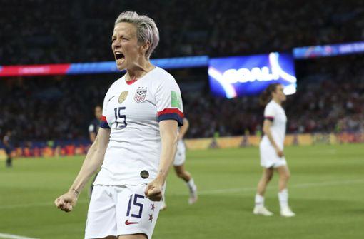 Rapinoe trifft doppelt: USA beenden Frankreichs WM-Party