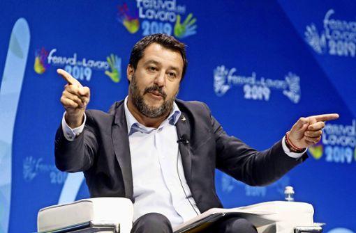 Salvini zuerst