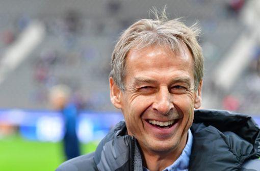 Klinsmann will mit Hertha bald um Titel spielen