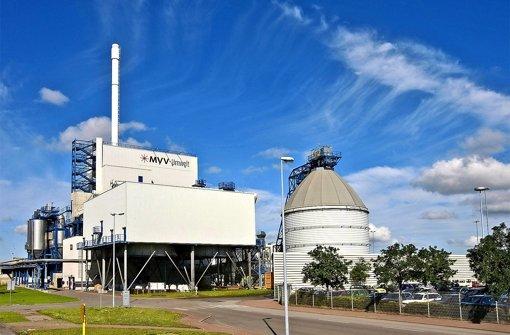 Die MVV produziert auch Strom aus Biomasse. Foto: MVV