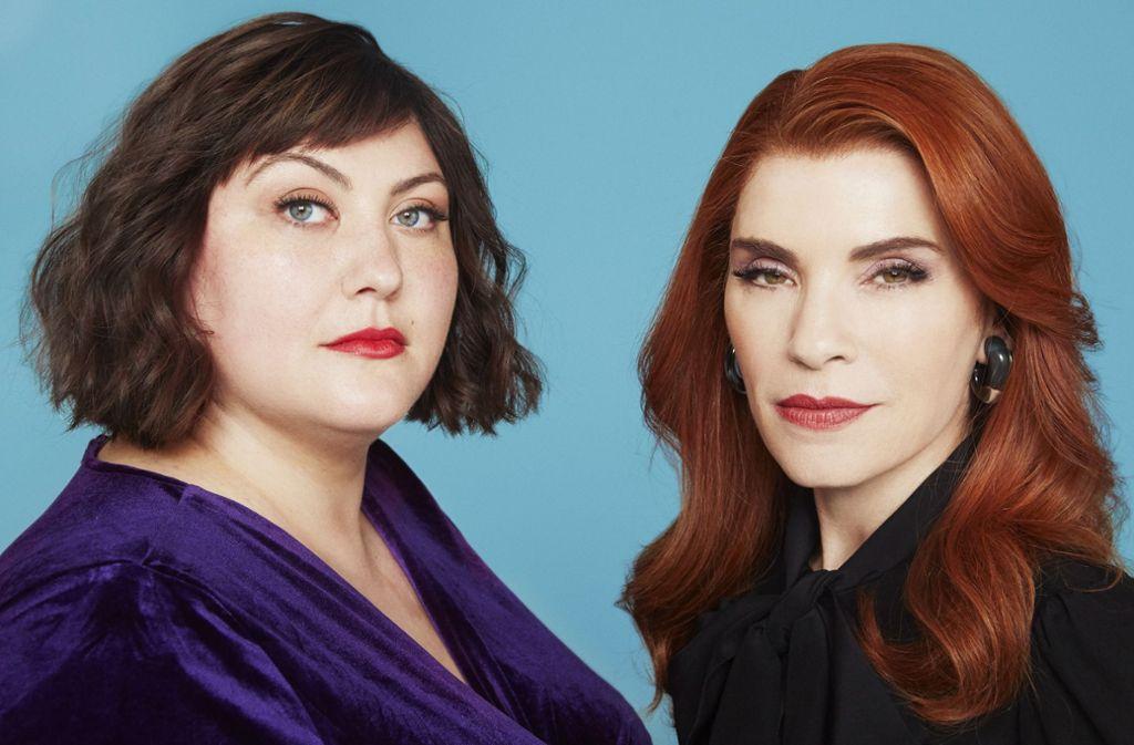 Alicia (Joy Nash, links) wird ausgebeutet und verhönnt – auch von ihrer Chefin Kitty (Julianna Margulies). Foto: AMC