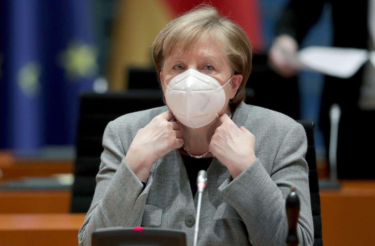 """Einem Bericht der """"Bild"""" zufolge will Angela Merkel einen härteren Lockdown. Foto: dpa/Michael Sohn"""