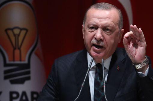 Türkischer Präsident Erdogan geht auf Außenminister Heiko Maas los
