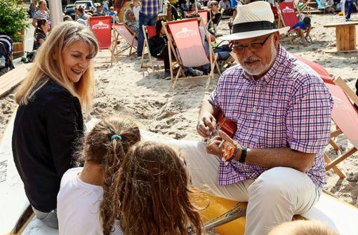 Karibische Rhythmen und 200 Tonnen Sand