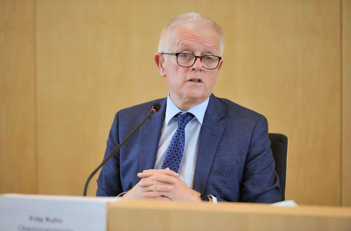 Stuttgarts Alt-OB Fritz Kuhn sagt jetzt auch der Regionalversammlung Adieu. Foto: Lichtgut/Max Kovalenko