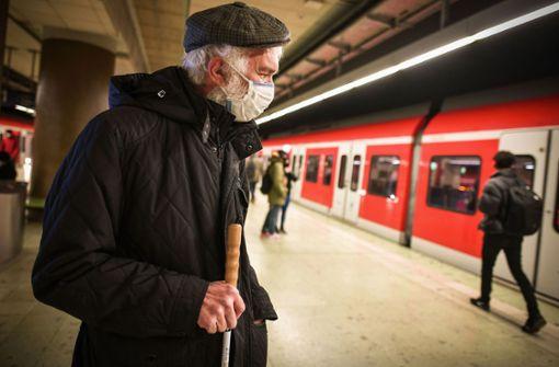 Blinden fehlen an S-Bahnen die Leitlinien
