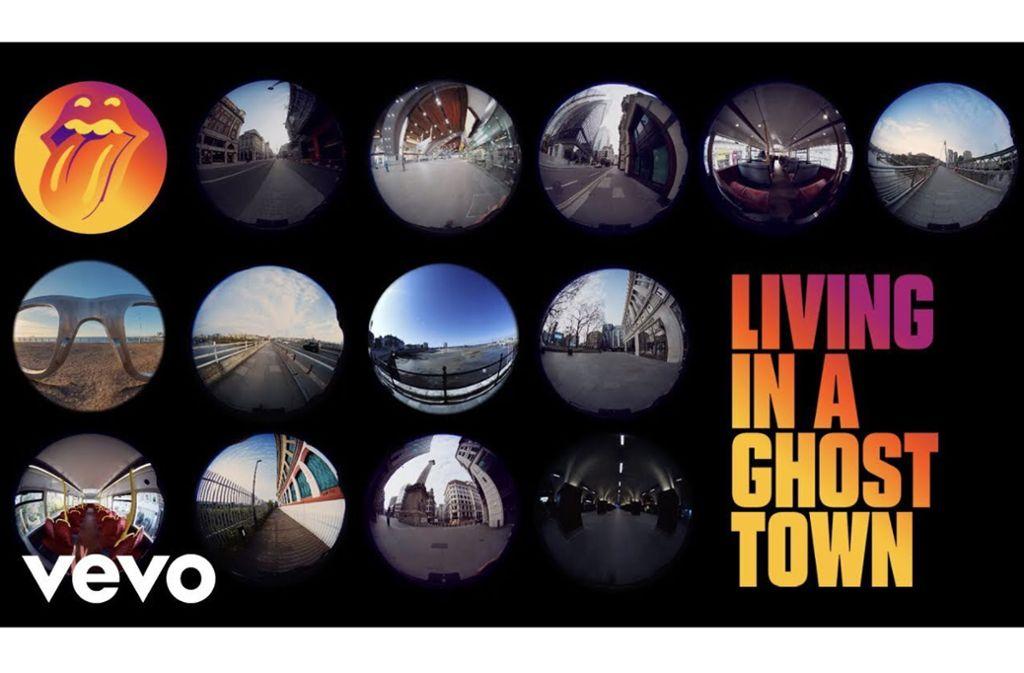 """Living In A Ghost Town"" heißt der neue Song der Rolling Stones Foto: Universal"
