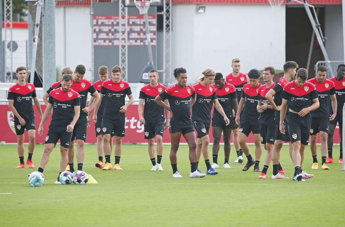 Der VfB Stuttgart steht vor dem ersten Auswärtsspiel der Saison. Foto: Baumann