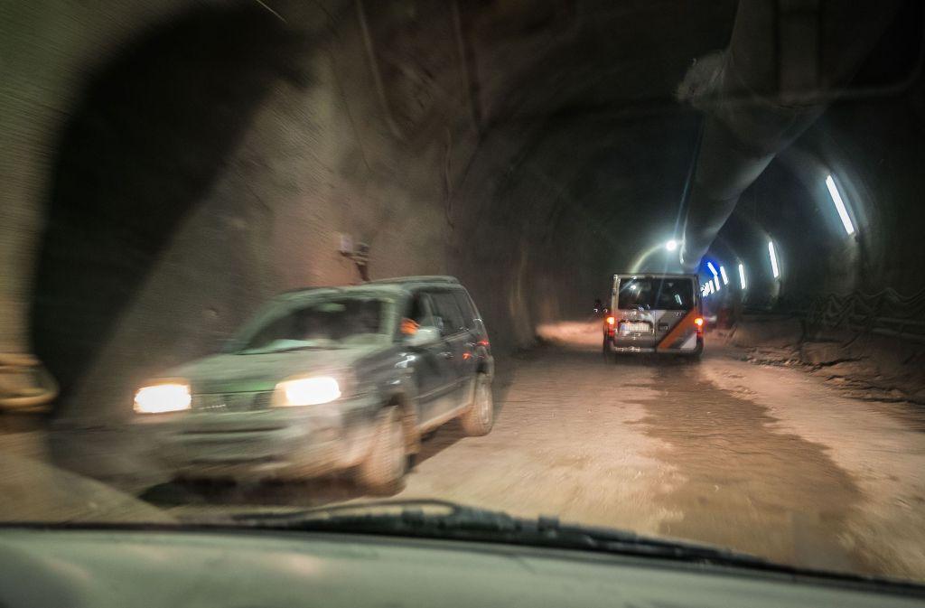 Der Tunnelbau für Stuttgart 21, hier Richtung Feuerbach, wird die Mineure noch einige Jahre beschäftigen. Foto: Lichtgut/Max Kovalenko