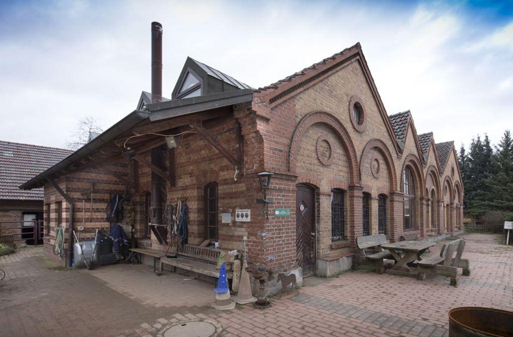 Die Gebäude der früheren Ziegelei bleiben auch in Zukunft erhalten. Foto: Frank Eppler