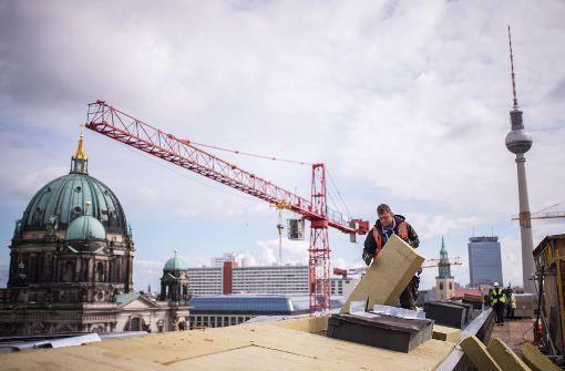 Stadtschloss-Kuppel ohne Kreuz wäre