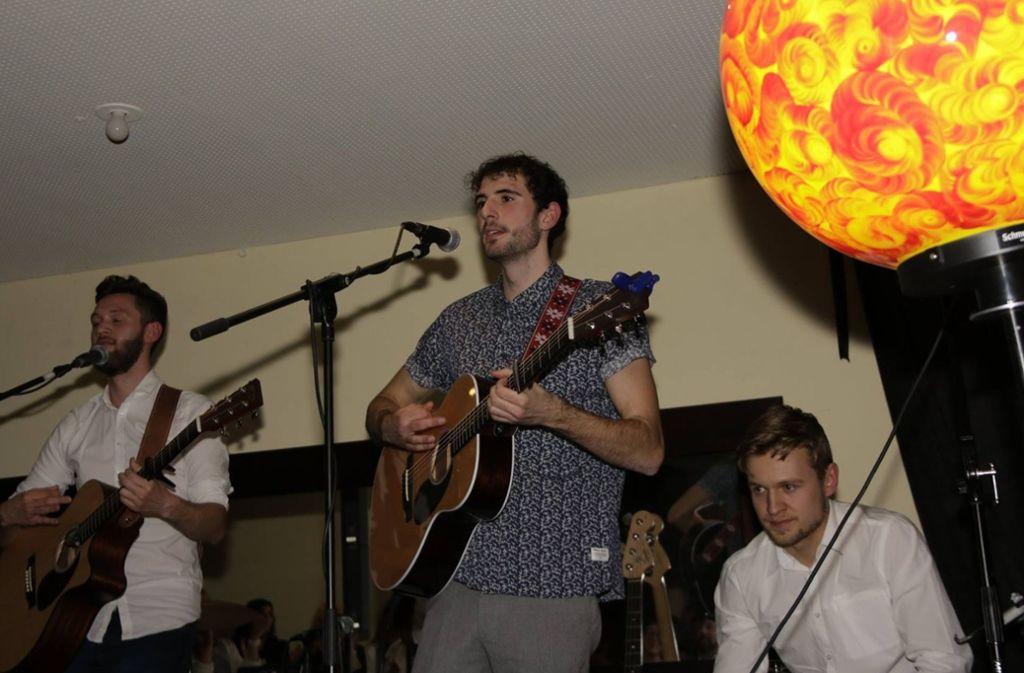Die Band Leitmotiv bei der Benefizparty in der Note.  Foto: Klaus Schnaidt