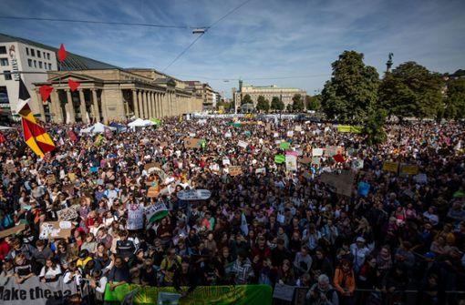 Klimastreik  geht auch in Stuttgart weiter