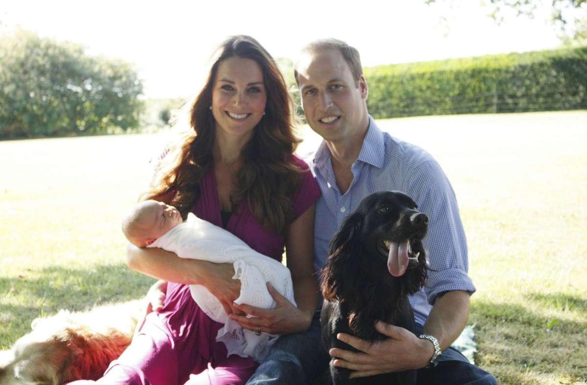 Hunde haben im britischen Königshaus eine lange Geschichte. Foto: dpa/Michael Middleton