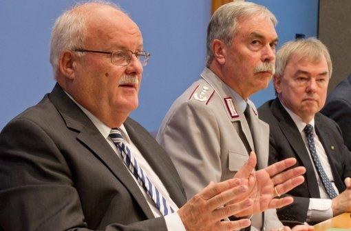 Der Richterbund-Vorsitzende Christoph Frank warnt. Foto: dpa