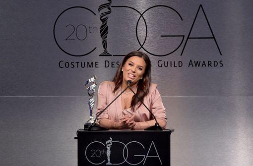 Eva Longoria ehrt Kostümdesigner