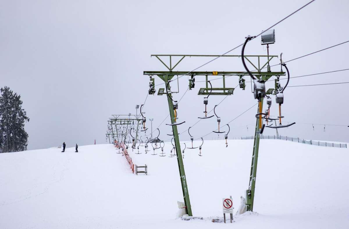 Am Skilift in Treffelhausen kam es zu mehreren Verstößen gegen die Corona-Verordnung. (Archivbild von 2018) Foto: 7aktuell.de/Andreas Friedrichs/www.7aktuell.de/Andreas Friedric