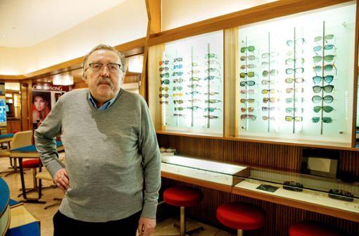 Ein Optiker am Rotebühlplatz sieht schwarz