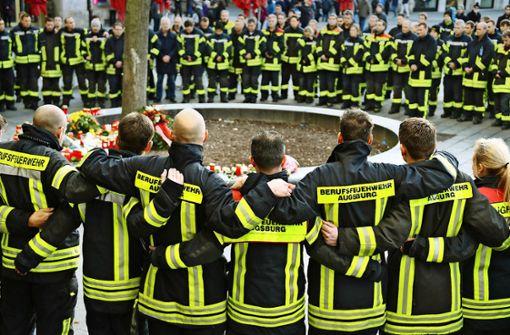 Augsburg ist fassungslos über die Gewalt