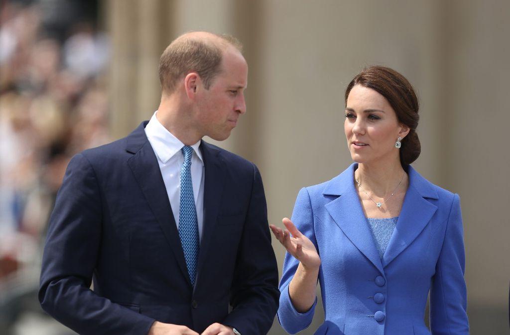 William und Kate werden bei ihrer Deutschlandreise am Donnerstag auch in Heidelberg zu Besuch sein. Foto: Getty Images Europe
