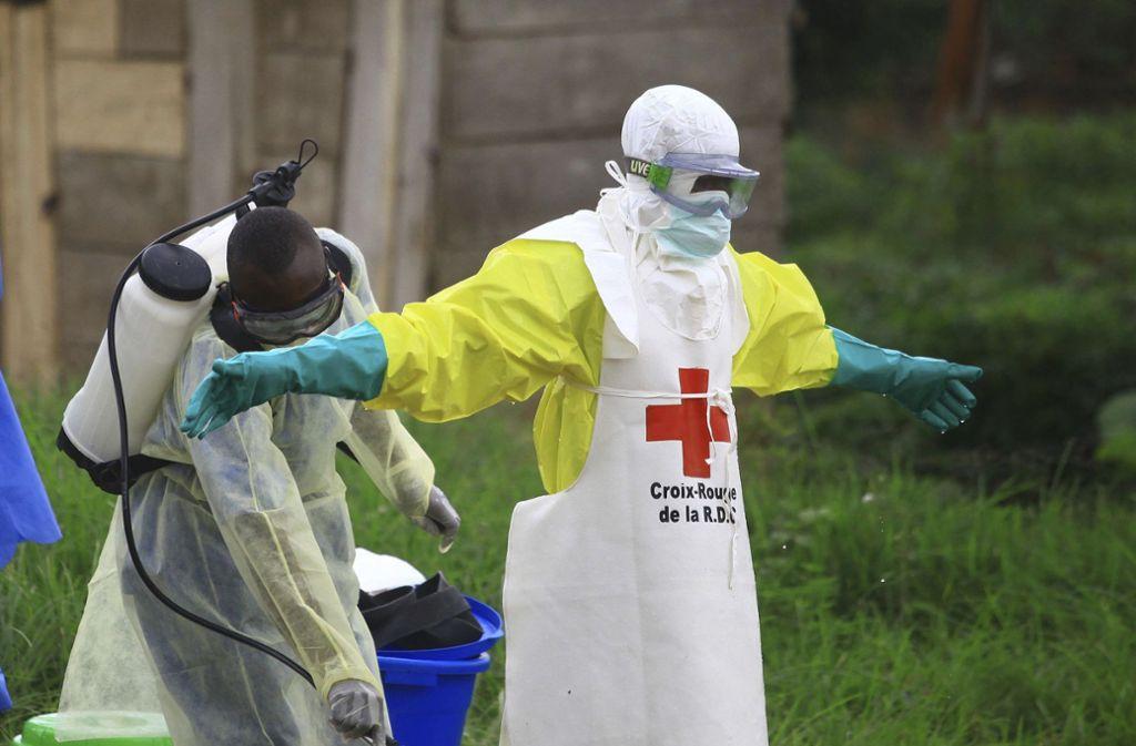 Im Kongo grassiert Ebola. (Archivbild) Foto: AP