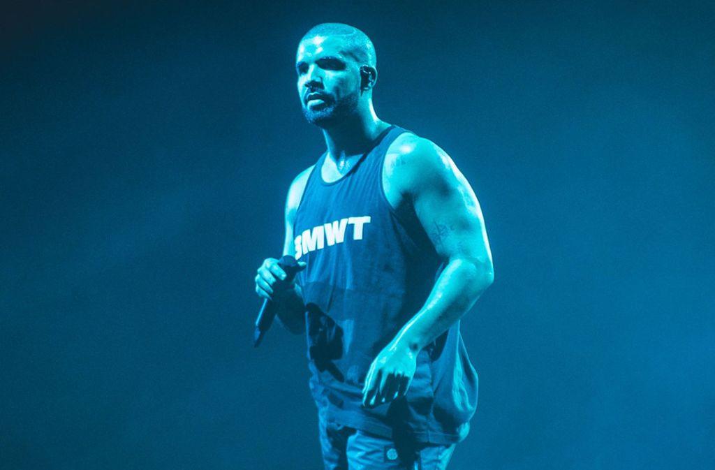 Gut betucht: der kanadische Rapper und R-'n'-B-Sänger Drake Foto: dpa