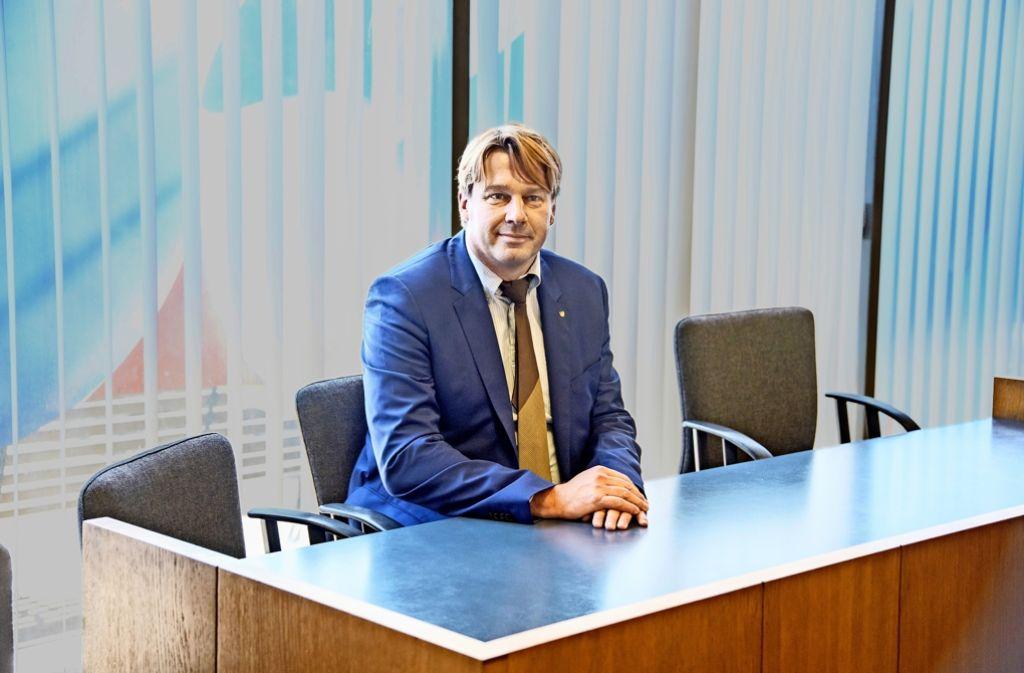 """Klingler im Amtsgericht:  """"Das Urteil ist unfair und hart"""" Foto: Martin Stollberg"""