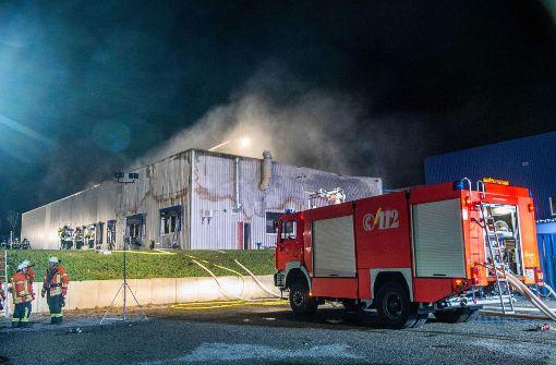 Feuerwehr mit mehr als 100 Mann im Einsatz