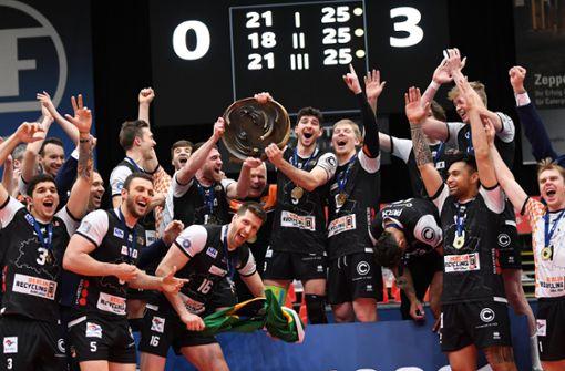 """""""Einfach unfassbar""""  –  Berlin Volleys feiern den elften Titel"""