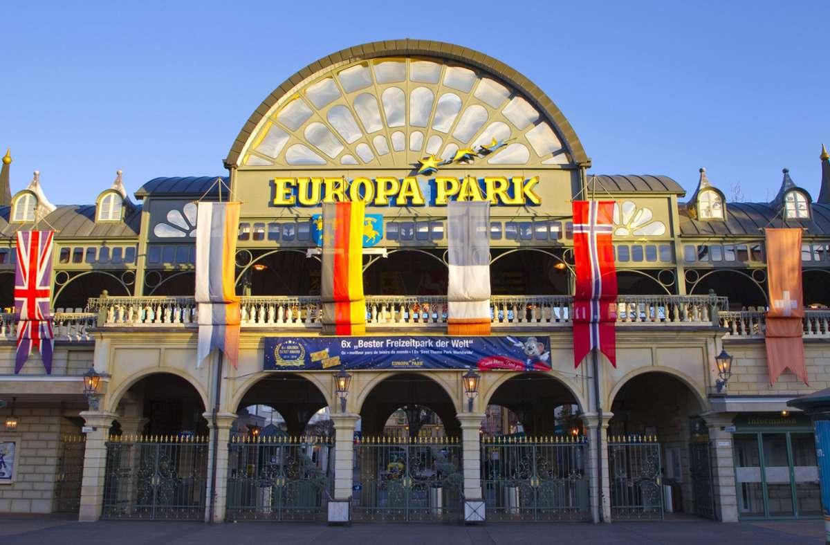 Die Veranstaltung soll im Europapark Rust stattfinden. (Archivbild) Foto: imago images/Mandoga Media