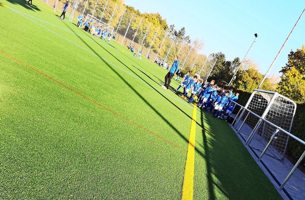 Für die Sportvereine sind Kunstrasenplätze unverzichtbar, denn im Gegensatz zu Naturrasen sind sie ganzjährig nutzbar. Foto: Patricia Sigerist