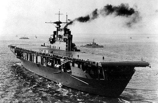 Flugzeugträger-Wrack aus dem Zweiten Weltkrieg entdeckt