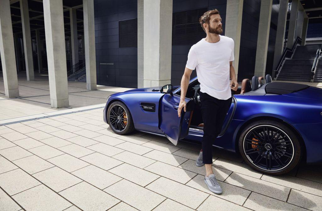 So könnte der lässig-sportliche Lifestyle aussehen. Foto: Daimler AG