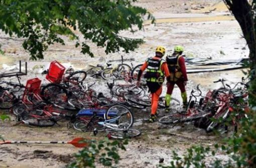 Leichenfund nach Überschwemmung