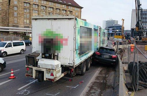 22.000 Euro Schaden nach Porsche-Crash