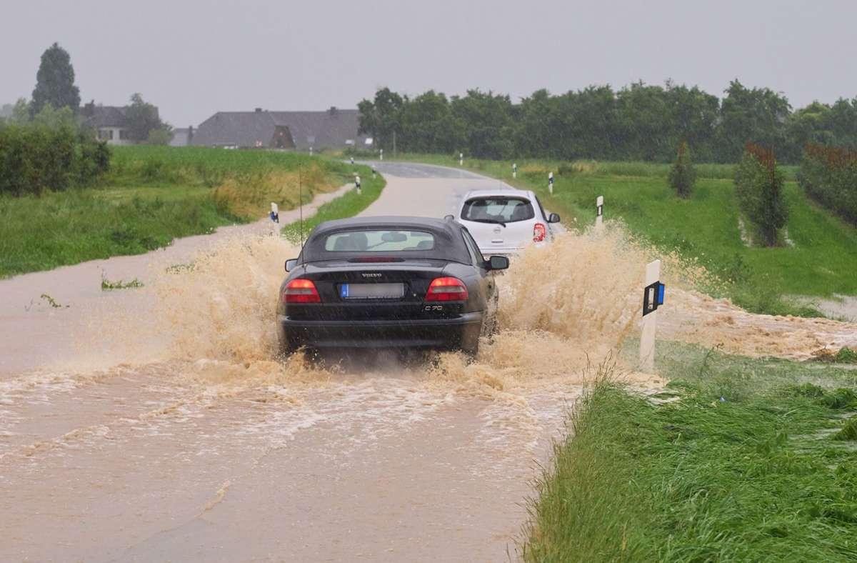 Im Landkreis Ahrweiler wurde der Katastrophenfall ausgerufen. Foto: dpa/Thomas Frey