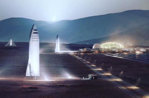 Reise zum Mars – Wie geht das?
