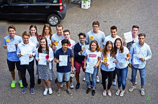 Der Umweltminister zeichnet Sillenbucher Schüler aus