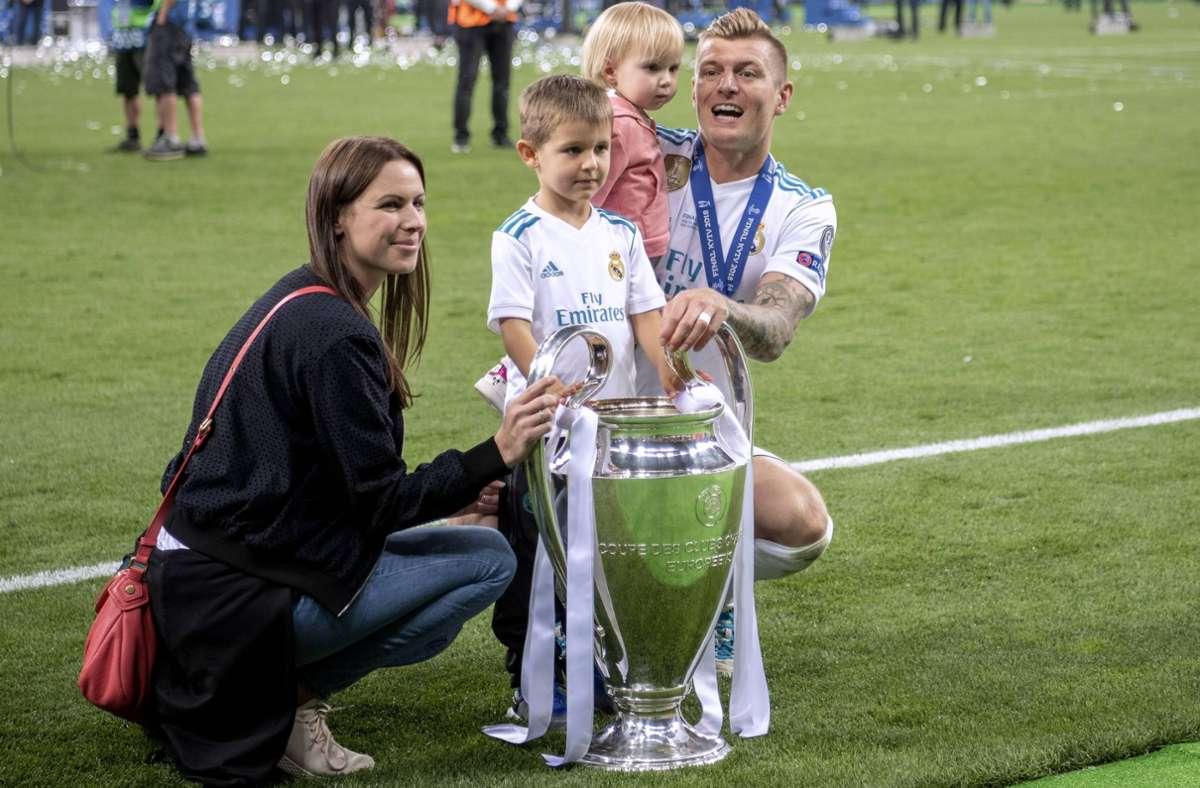 Ein Mann mit ausgeprägtem Familiensinn: Fußball-Nationalspieler Toni Kroos. Foto: imago/Laci Perenyi