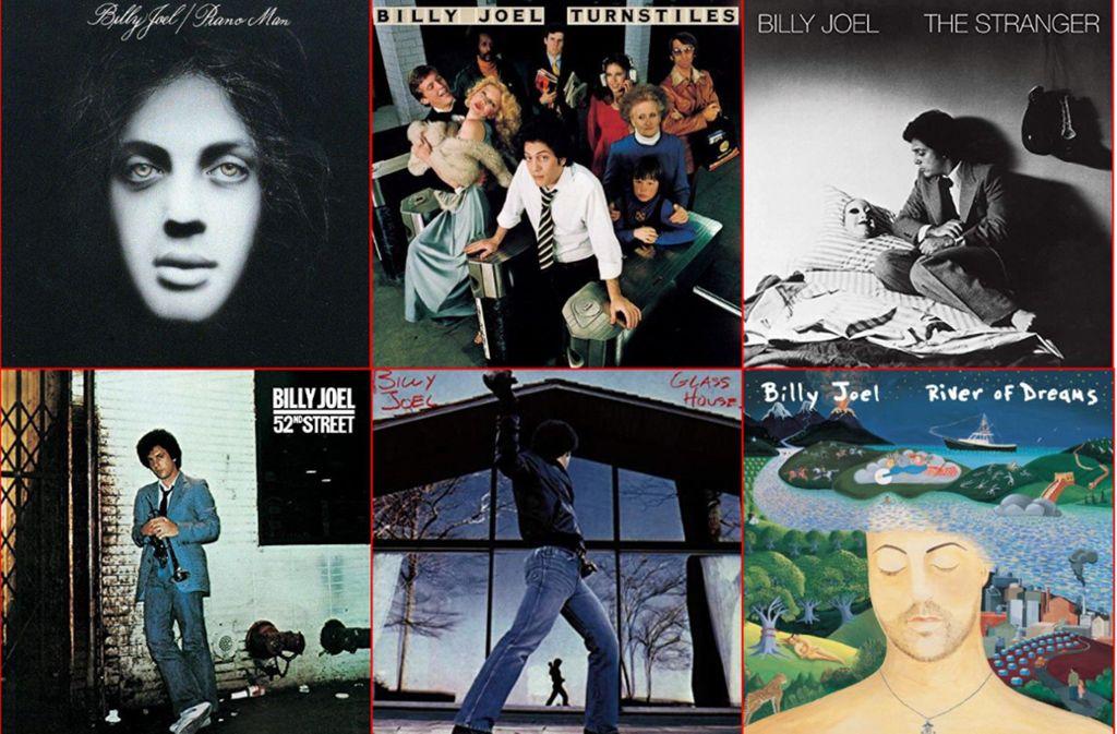 Billy Joel hat viele Klassiker geliefert. Wir haben eine kleine Auswahl getroffen. Foto: Columbia/Sony